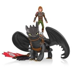 2014 How To Train Your Dragon - Hiccup And Toothless Hallmark Ornament