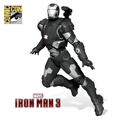 2014 Iron Man  3 - War Machine - Sdcc Hallmark Ornament