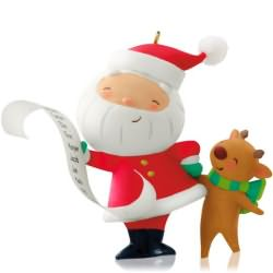 2014 Kringle And Kris #1 Hallmark Ornament