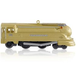 2014 Lionel - Pennsylvania Torpedo Locomotive - Limited Hallmark Ornament