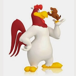 2014 Looney Tunes - Who You Callin Chicken - Limited Hallmark Ornament