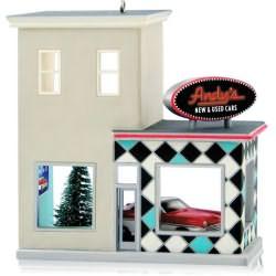 2014 Nostalgic Houses And Shops #31 - Andys Cars Hallmark Ornament