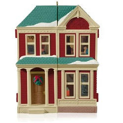 2014 Nostalgic Houses And Shops - Victorian Dollhouse Hallmark Ornament