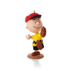 2014 Peanuts #11 - Charlie's Favorite Pastime Hallmark Ornament