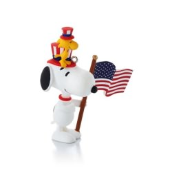 2014 Peanuts #12 - Patriotic Pals Hallmark Ornament
