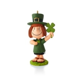 2014 Peanuts # 8 - St Patty's Day Hallmark Ornament