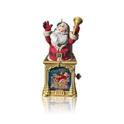 2014 Santa Certified #2 - Jack In The Box Hallmark Ornament