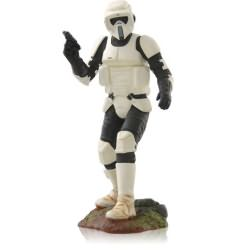 2014 Star Wars #18 - Scout Trooper Hallmark Ornament
