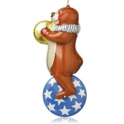 2014 Tin Toys #1 - Big-top Bear Hallmark Ornament