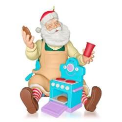 2014 Toymaker Santa #15 - Play Oven Hallmark Ornament