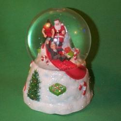Snow Globe Hallmark Ornament